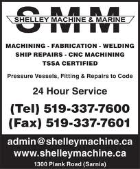 Shelley Machine & Marine Inc