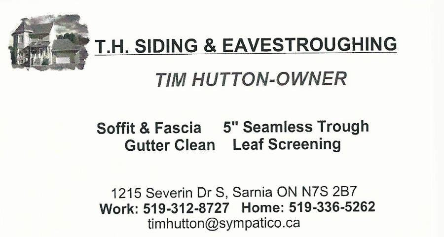 T.H. Siding and Eavestroughing