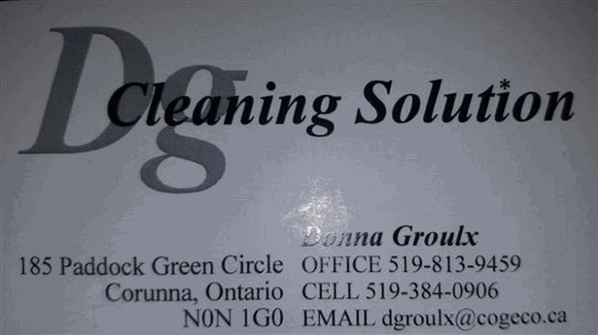 DG Cleaning Solutions