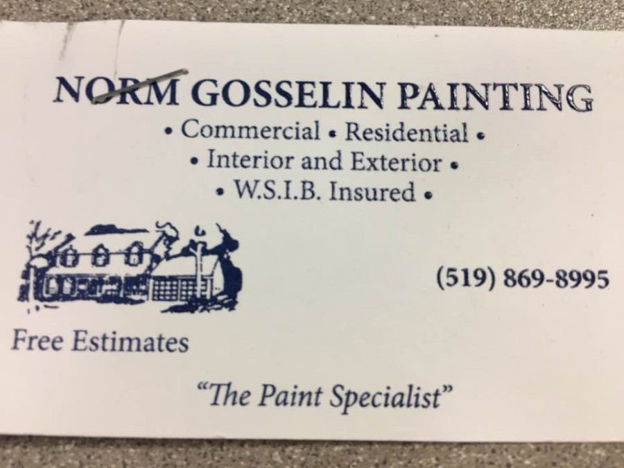 Norm Gosselin Painting