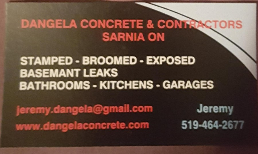 D'Angela Concrete & Contractors
